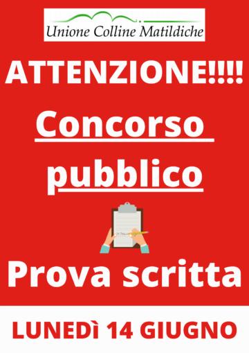Leggi: «Bando di concorso pubblico per esami…»